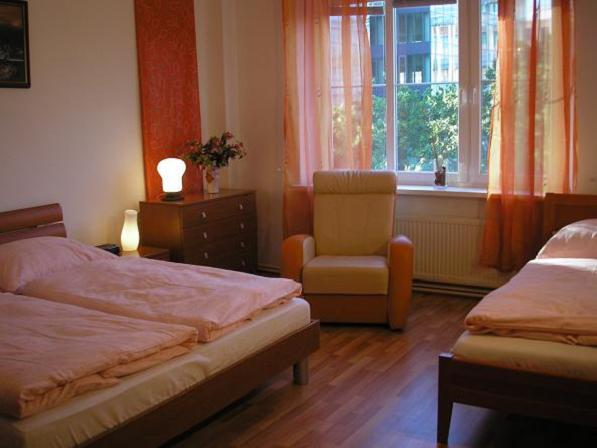 Apartment-Accommodation-in-Bratislava-City-Centre-Slovakia-bedroom-Ia